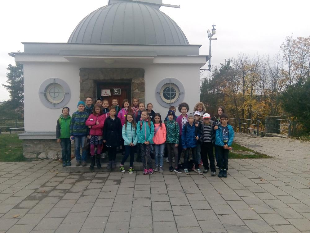 Návštěva hvězdárny a planetária