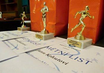 Žáci naší školy byli oceněni v anketě o nejlepší sportovce města Blanska