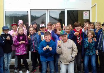 Žáci IV.B na návštěvě v Základní škole speciální Blansko, Žižkova 27