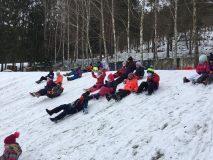 Žáci I. A umí nejen cvičit, ale i tvořit